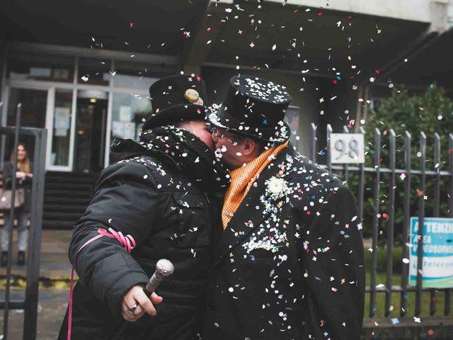 Il matrimonio di Domenico e Matteo a Rivoli, Torino 10
