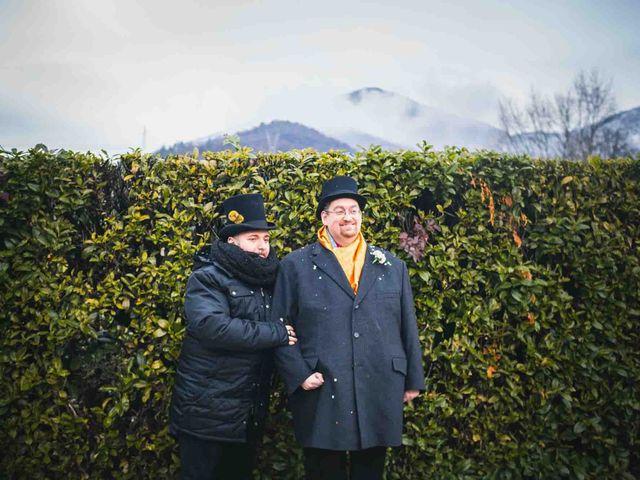 Il matrimonio di Domenico e Matteo a Rivoli, Torino 11