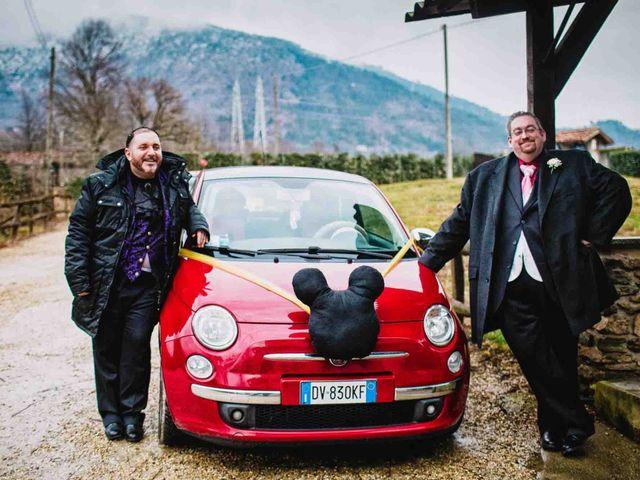 Il matrimonio di Domenico e Matteo a Rivoli, Torino 16