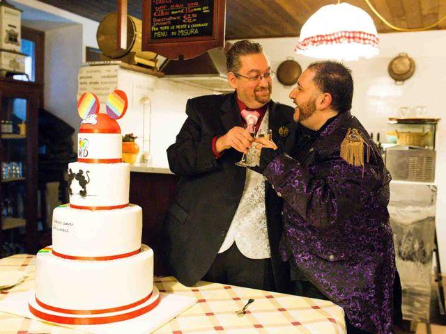Il matrimonio di Domenico e Matteo a Rivoli, Torino 25