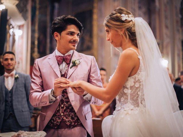 Il matrimonio di Edoardo e Martina a Besozzo, Varese 41