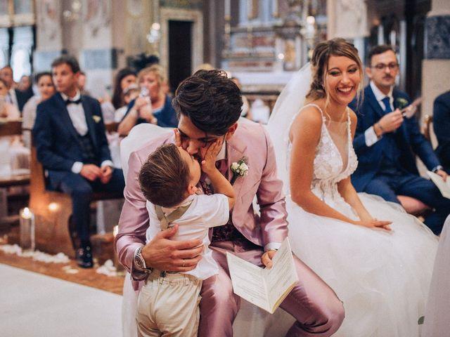 Il matrimonio di Edoardo e Martina a Besozzo, Varese 44