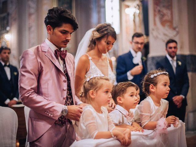 Il matrimonio di Edoardo e Martina a Besozzo, Varese 45
