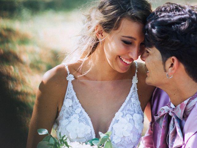 Il matrimonio di Edoardo e Martina a Besozzo, Varese 80