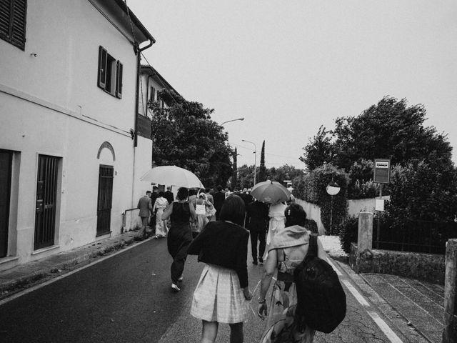 Il matrimonio di Gabriele e Letizia a Collesalvetti, Livorno 55