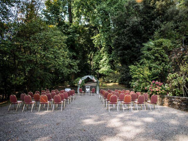 Il matrimonio di Davide e Ashley a Belgirate, Verbania 9