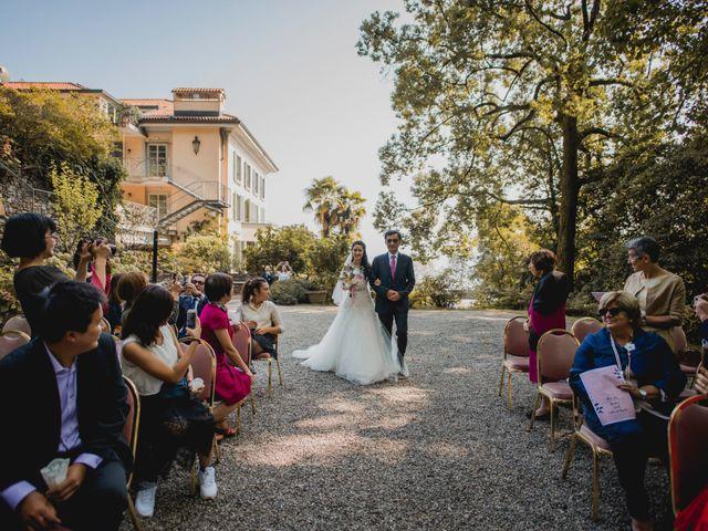 Il matrimonio di Davide e Ashley a Belgirate, Verbania 11