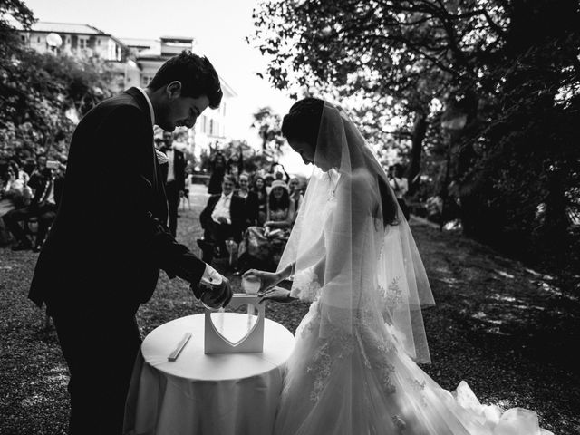 Il matrimonio di Davide e Ashley a Belgirate, Verbania 13