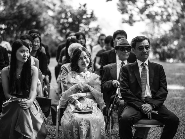 Il matrimonio di Davide e Ashley a Belgirate, Verbania 20