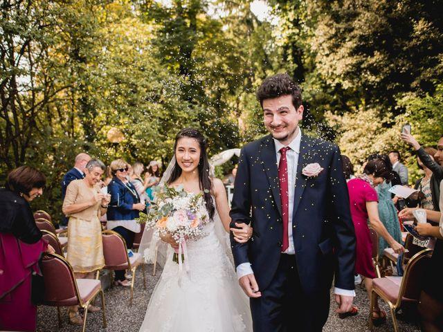 Il matrimonio di Davide e Ashley a Belgirate, Verbania 22