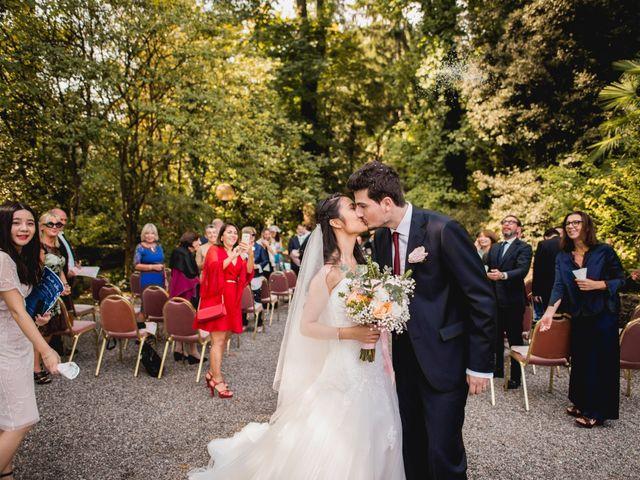 Il matrimonio di Davide e Ashley a Belgirate, Verbania 23