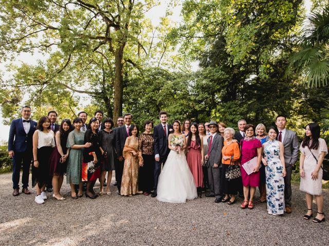 Il matrimonio di Davide e Ashley a Belgirate, Verbania 25