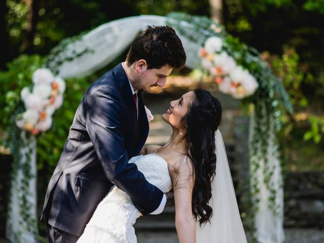 Il matrimonio di Davide e Ashley a Belgirate, Verbania 32