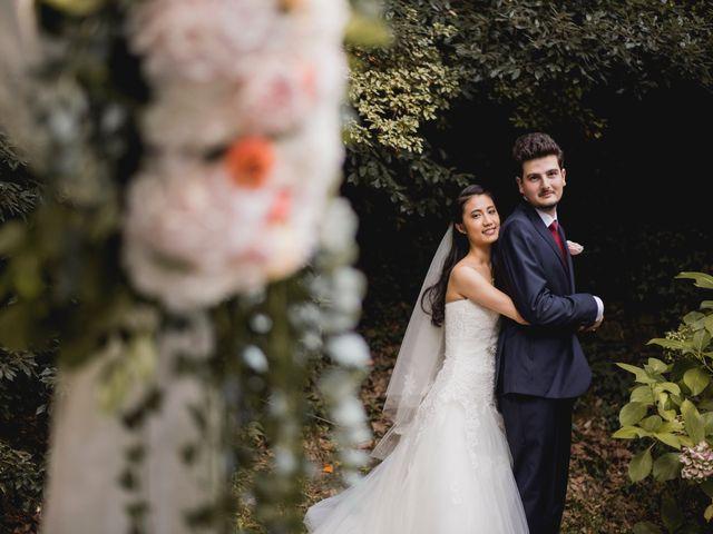 Il matrimonio di Davide e Ashley a Belgirate, Verbania 34