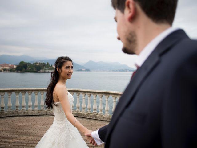Il matrimonio di Davide e Ashley a Belgirate, Verbania 52