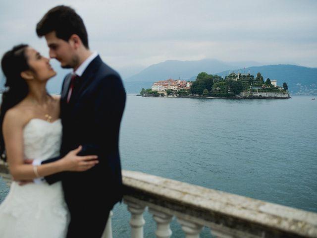 Il matrimonio di Davide e Ashley a Belgirate, Verbania 54
