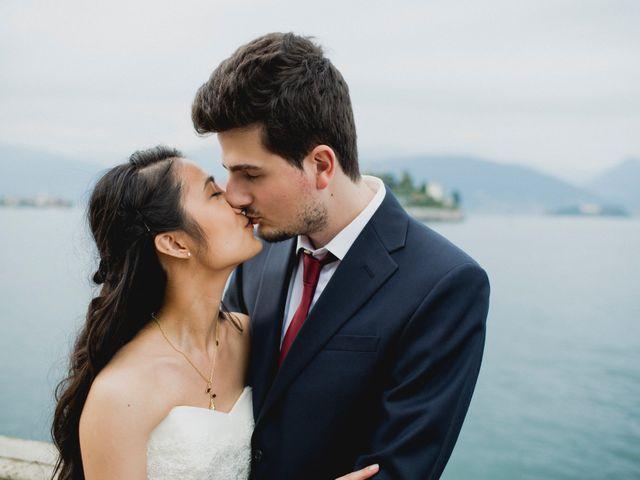 Il matrimonio di Davide e Ashley a Belgirate, Verbania 55