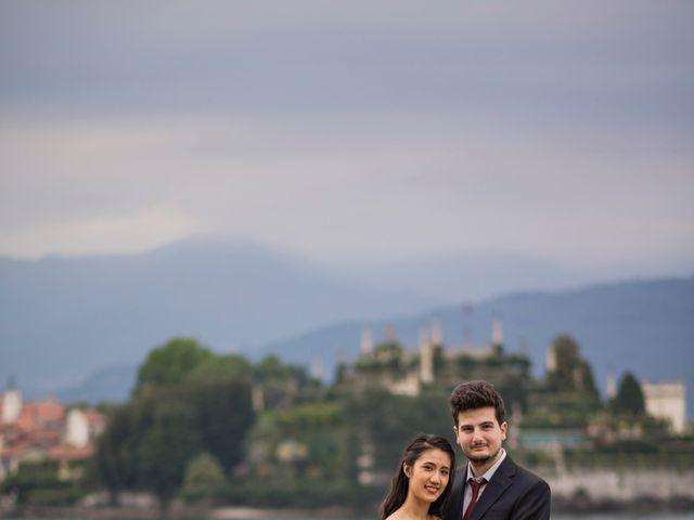 Il matrimonio di Davide e Ashley a Belgirate, Verbania 56