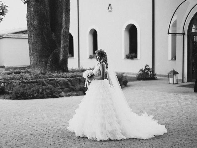 Il matrimonio di Alessandro e Alice a Sutri, Viterbo 11