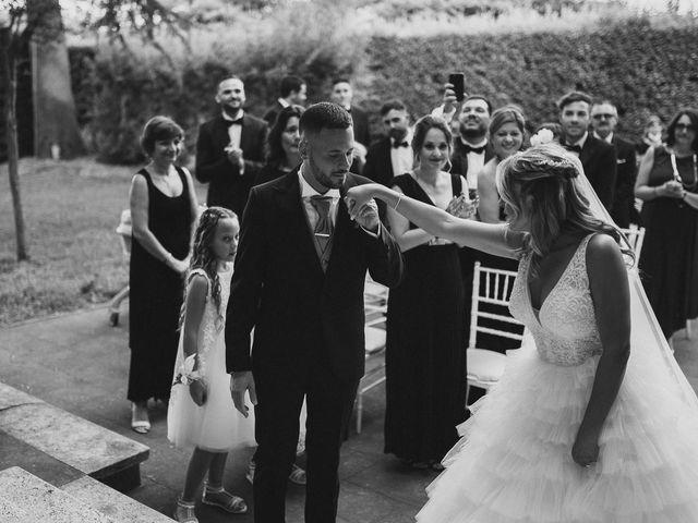 Il matrimonio di Alessandro e Alice a Sutri, Viterbo 12