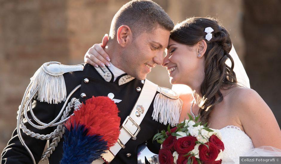 Il matrimonio di Mirko e Antonietta a Cerveteri, Roma