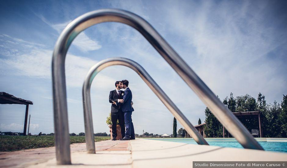 Il matrimonio di Michele e Federico a Orbetello, Grosseto
