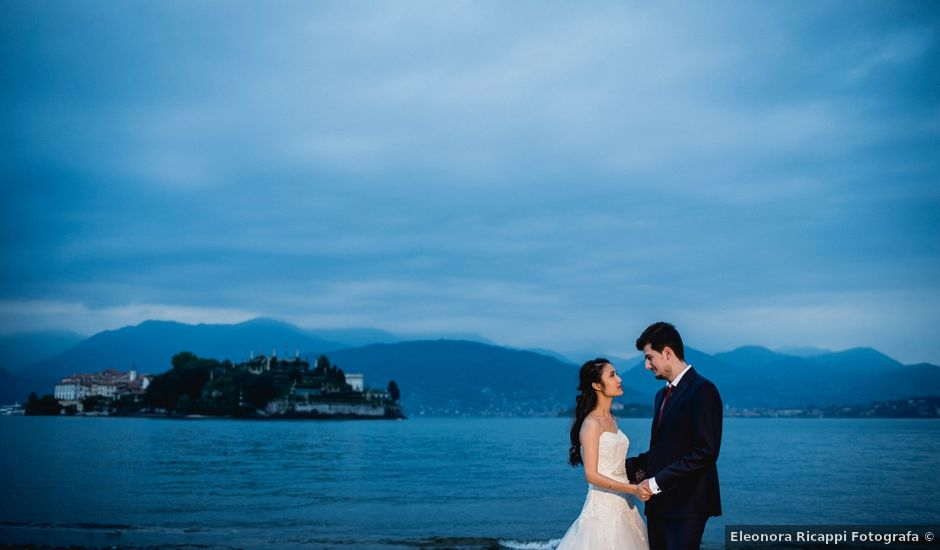Il matrimonio di Davide e Ashley a Belgirate, Verbania