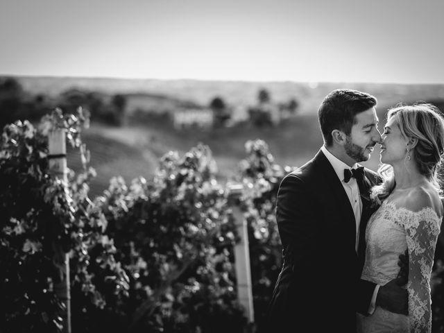 le nozze di Hannah e Tanner