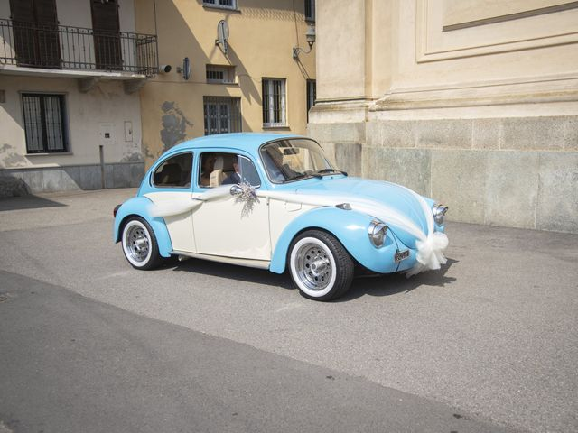 Il matrimonio di Maurizio e Elvira a San Francesco al Campo, Torino 14