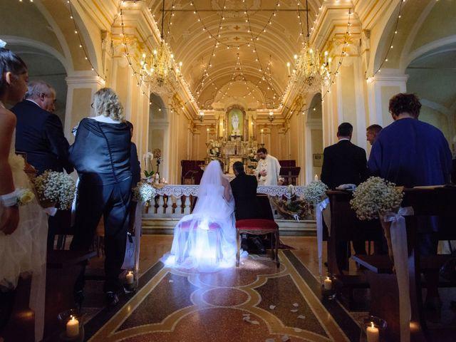 Il matrimonio di Alessandro e Monica a Masone, Genova 31