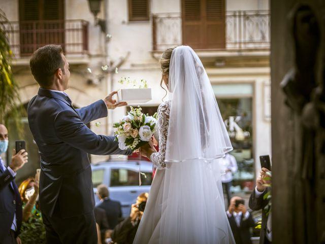 Il matrimonio di Valentina e Salvio a Partinico, Palermo 32