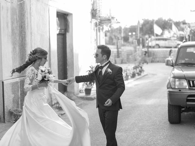 Il matrimonio di Valentina e Salvio a Partinico, Palermo 39