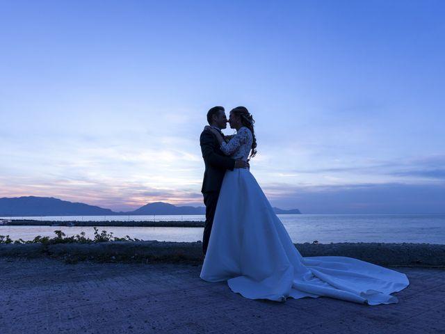Il matrimonio di Valentina e Salvio a Partinico, Palermo 45
