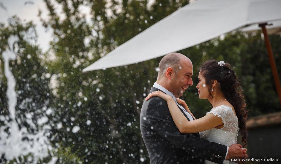 Il matrimonio di Armando e Jingyi Li a Roma, Roma