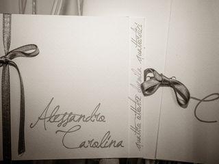 Le nozze di Carolina e Alessandro 1
