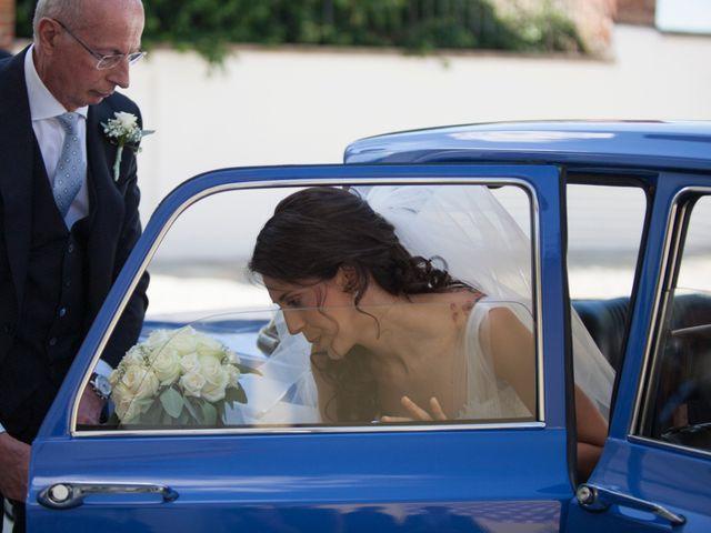 Il matrimonio di Matteo e Elena a Trino, Vercelli 29