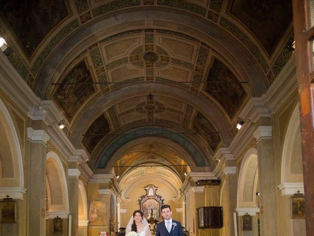 Il matrimonio di Matteo e Elena a Trino, Vercelli 36