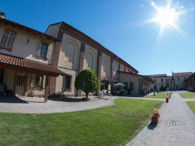 Il matrimonio di Matteo e Elena a Trino, Vercelli 41