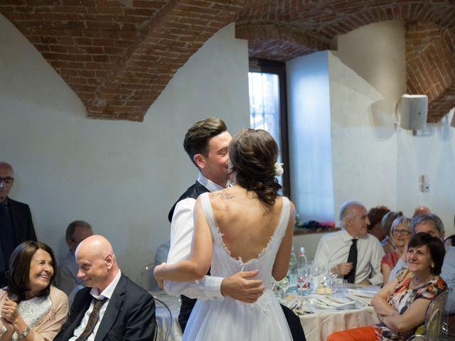 Il matrimonio di Matteo e Elena a Trino, Vercelli 53