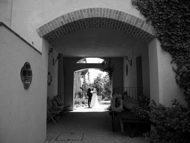 Il matrimonio di Matteo e Elena a Trino, Vercelli 57