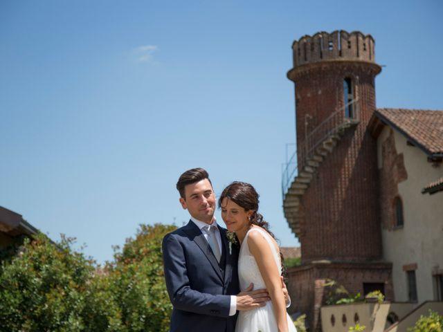 Il matrimonio di Matteo e Elena a Trino, Vercelli 61