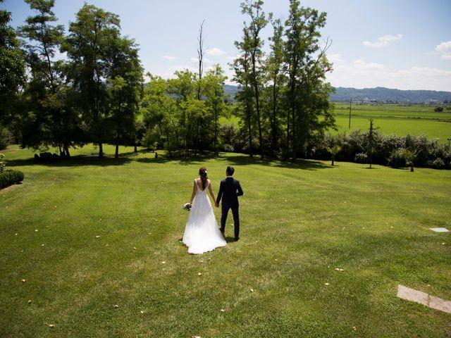 Il matrimonio di Matteo e Elena a Trino, Vercelli 63