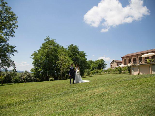 Il matrimonio di Matteo e Elena a Trino, Vercelli 64