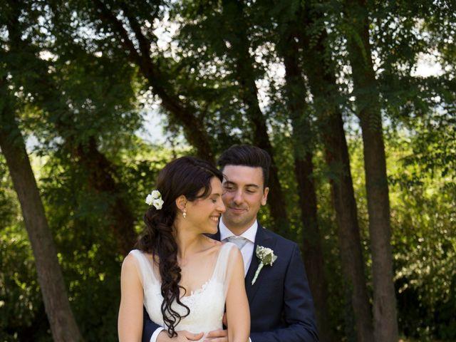 Il matrimonio di Matteo e Elena a Trino, Vercelli 67