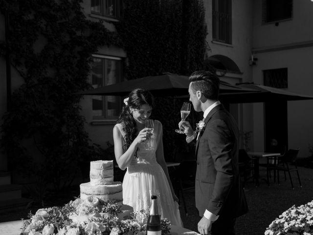 Il matrimonio di Matteo e Elena a Trino, Vercelli 73