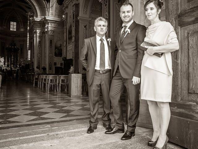 Il matrimonio di Alessandro e Carolina a Besozzo, Varese 1
