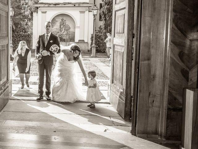 Il matrimonio di Alessandro e Carolina a Besozzo, Varese 20
