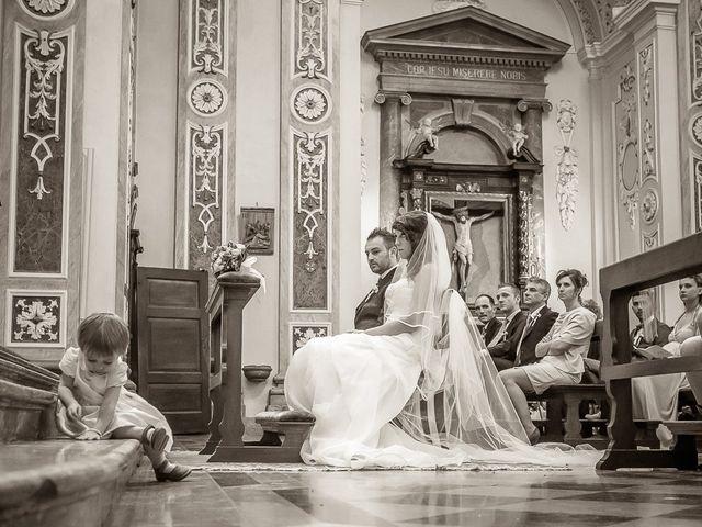 Il matrimonio di Alessandro e Carolina a Besozzo, Varese 22