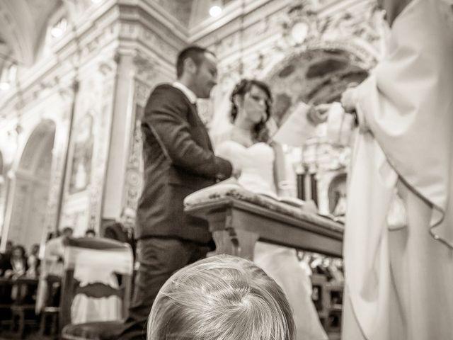 Il matrimonio di Alessandro e Carolina a Besozzo, Varese 25