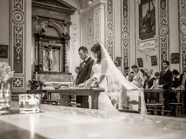 Il matrimonio di Alessandro e Carolina a Besozzo, Varese 29